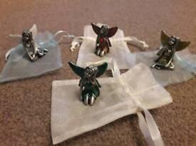 BRAND NEW pewter birthday fairies