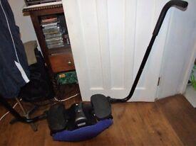 HOME gym leg &hips exerciser made in USA