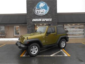 2007 Jeep Wrangler LOOK! FINANCING AVAILABLE!