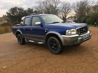 55 FORD RANGER WILD TRAK TOP SPEC CHEAP BARGAIN LOW MILES ONE OWNER NO VAT