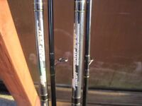 2 x Ron Thompson Evo concept 360 12ft carp rods