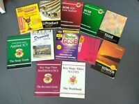 FREE 40 VARIOUS COLLEGE/SCHOOL/UNIVERSITY BOOKS CGP & OTHERS FREE 40 BOOKS