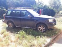 Freelander for spares or repair!!
