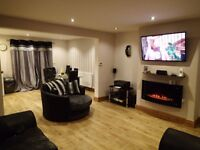 Large furnished double room for rent in a beautiful, recently renovated 3 bed house in Penwortham