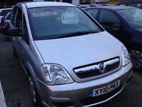 2010 Vauxhall Meriva 1.6 55k miles