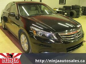 2011 Honda Accord EX-L Heated Leather Sunroof