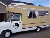 1981 mark2 transit 5 sleeper motorhome SOLD TO THE LOVELIEST COUPLE EVER