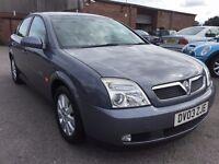 Vauxhall VECTRA 2.2 petrol automatic.