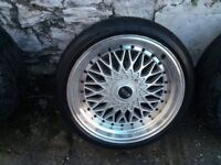 ALLOY WHEELS BBS RS Reps 5x120 18 inch BMW
