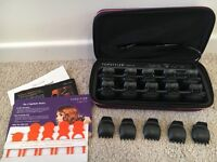 TopStyler Heated Ceramic Shells By Instyler Purple & Pink Case