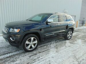 2015 Jeep Grand Cherokee Limited, TOIT OUVRANT, CUIR, NAVIGATION