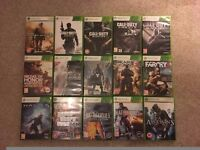 Xbox 360 games open to offers