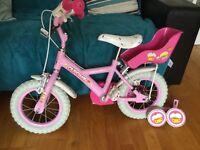 """Girls Apollo 12"""" Cupcake bike (age 3-5)"""