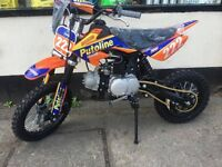 SUPERSTOMP 120CC PIT BIKE PUTOLINE EDITION BRAND NEW