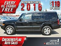 2008 Jeep Commander Sport W/ Heated Leather-4X4-Alloy Wheels