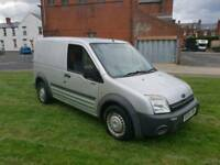 2006 FORD TRANSIT CONNECT CUSTOM VAN 1.8 TDDI IN SILVER WITH A FULL YEAR M.O.T