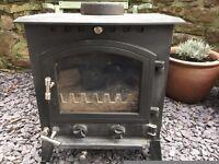 Clarke Classic 6.8kw Multifuel cast iron wood burning stove