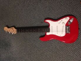 Squier by Fender Stratocaster - Red