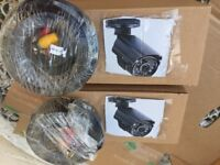 Yale CCTV-2-camera outdoor HD720/HDC 303G, with cables