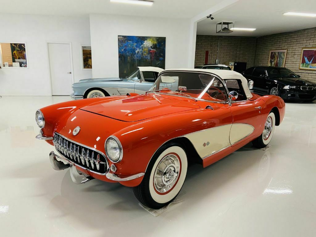 1957 Red Chevrolet Corvette     C1 Corvette Photo 3
