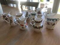 Compton and Woodhouse miniature Jug collection