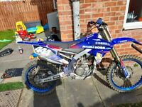 Yamaha yzf 250 2018 model. Very clean and very fast