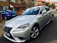 LEXUS IS 300H HYBRID 2014 1 OWNER FROM NEW 2 KEYS NOT TOYOTA PRIUS 2012 2013 MERCEDES BMW VW