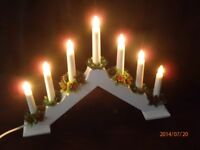 Christmas Electric Candle Decoration