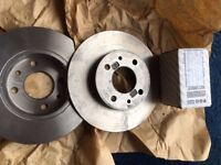 New discs & pads for 2011 Fiat Panda 1.2.