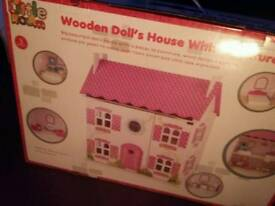 Dolls house (still in box)
