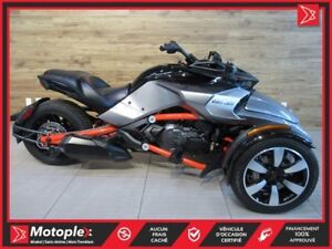 2016 Can-Am Spyder  F3-S SE6 71$/SEMAINE