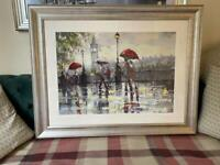 Large framed picture of London