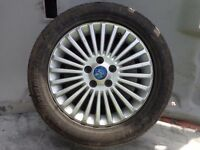 """FORD MONDEO MK4 / GALAXY / FOCUS MK2 16"""" ALLOY WHEEL WITH TYRE 215/55 ZR16"""
