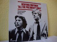 All the President's Men. NTSC laserdisc. Widescreen edition.