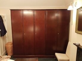 Pristine condition Stag bedroom furniture- great quality