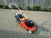 Mountfield 16inch key start petrol rear roller lawn mower