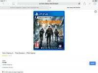 Gta v and Tom Clancy the division ps4 games