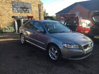 57 Volvo S40, 2.0Se Matt Grey, Only 100k 12 MOT, Half Leather Seats, Cruise control Ac