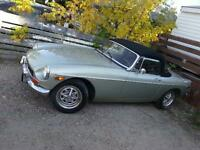 73 MGB Convertable Roadster
