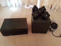 Sony STR-DN1040, 4K, 8xHDMI, 7.2 amp & 5.1 Boston Acoustics speakers - good as new