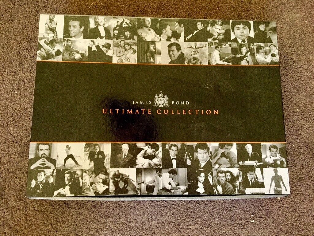 JAMES BOND - THE ULTIMATE COLLECTION BOX SET - BOX ONLY - DVD FILM COLLECTOR Special Edition Pack