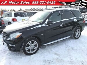 2012 Mercedes-Benz M-Class ML350 BlueTec, Navigation, Leather