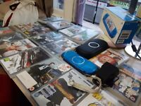 Psp 3003 bundle. Good condition.