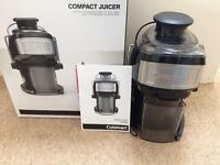 Cuisinart compact juicer CJE500U VGC boxed with instructions