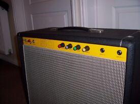 Carlsbro Vintage Valve 50 'Top' Amplifier. 50 Watt Combo Amp With 12-inch Celestion Speaker