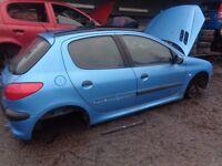 BREAKING --- Peugeot 206LX 1.1L Petrol 60BHP --- 2001