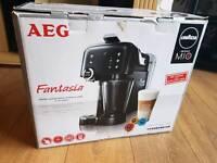 AEG Lavazza fantasia coffee machine Brand New in box