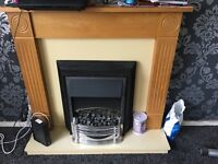 GORGEOUS ELECTRIC FIRE WITH FULL SURROUND