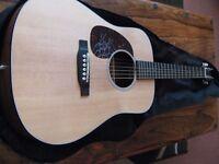 Martin Dreadnought Jr Guitar Left Handed