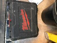 carrycase for impact driver and combi drill